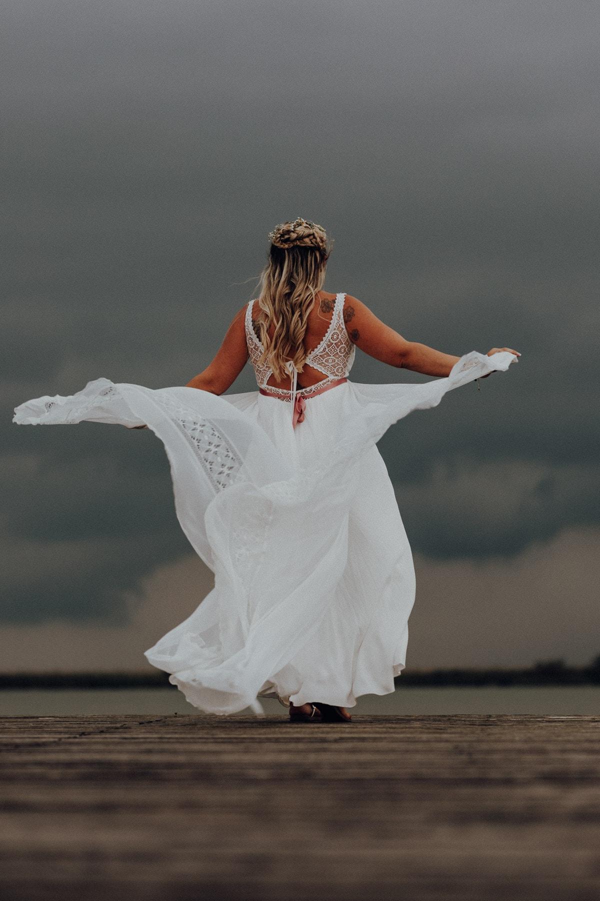 Hochzeitsfotograf, Burgenland, Neusiedl, Jois, Neusiedler See, Hochzeitsfeier, Fotograf, Vintage, Seejungfrau, Brautpaarfotos, Braut, Hochzeitskleid, See